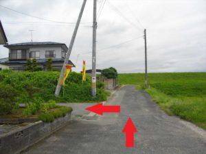 三本木坂本モデル 左折