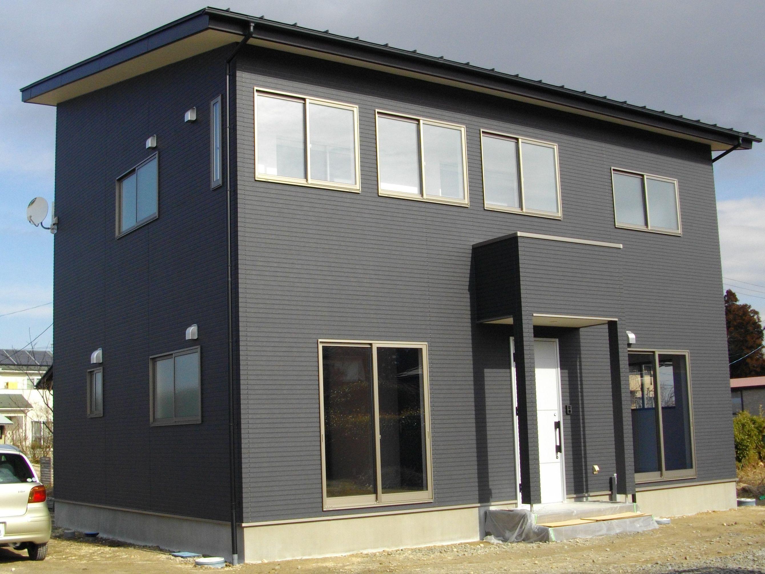 ベスト住宅 古川鶴ケ埣モデルハウス 全景